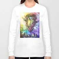earth Long Sleeve T-shirts featuring Earth by Vincent Vernacatola