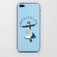 Look At All The Fox I Give - I iPhone & iPod Skin