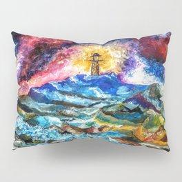 Lighthouse Landscape Pillow Sham