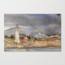 Menagerie Island Lighthouse Canvas Print