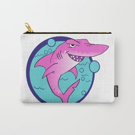 Crazy Shark! Carry-All Pouch
