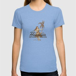 Tradewinds Hawaiian Island Hula Girl T-shirt