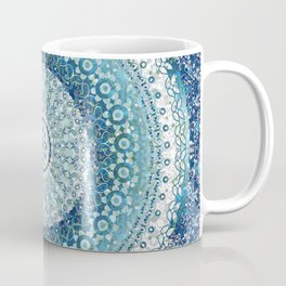 Teal Tapestry Mandala Coffee Mug