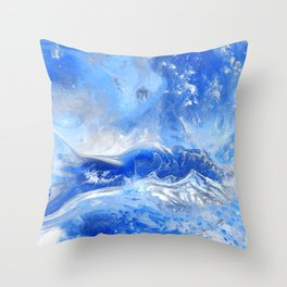 Forever Waves Throw Pillow
