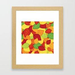 Autumn leaves #8 Framed Art Print