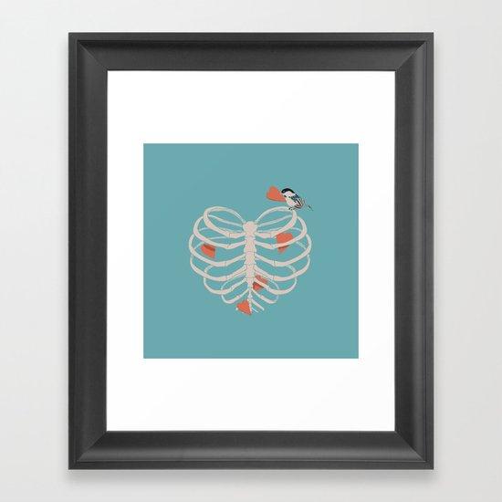 The Heart Collector Framed Art Print