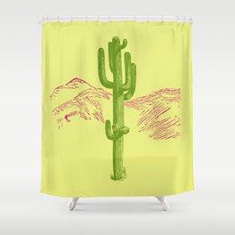 Acid Shower Curtain