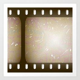 Old Film Art Print