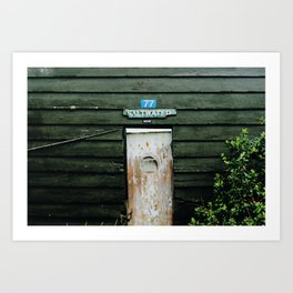 Saltwater (Stewart Island, New Zealand) Art Print