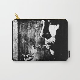 SMOKE - black version Carry-All Pouch