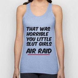 Air Raid  Unisex Tank Top