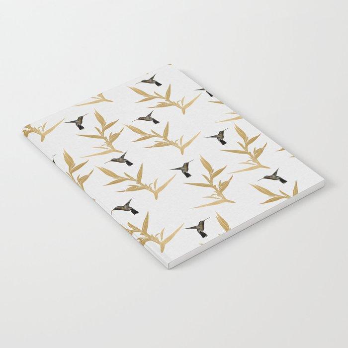Hummingbird & Flower II Notebook