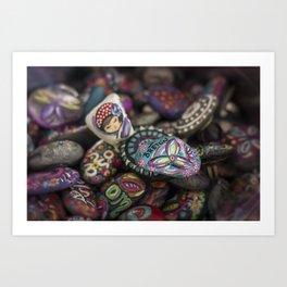 Arte en Piedra Elisa Breton Art Print