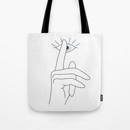 Shh... Tote Bag