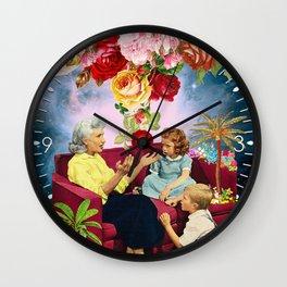 Gardening Stories 1 Wall Clock