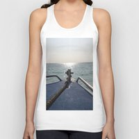 thailand Tank Tops featuring Thailand Boatride by Plutonian Oatmeal