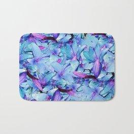LILY BOUNTIFUL BLUE Bath Mat
