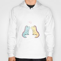 dinosaurs Hoodies featuring Dinosaurs by LifeSmiles