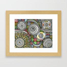 The Patterns Framed Art Print
