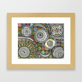 The Patterns Framed Art Print