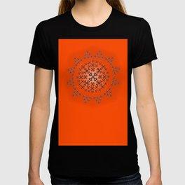 Holloween Crossbones Medallion T-shirt