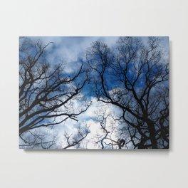 Dramatic stormy sky Metal Print