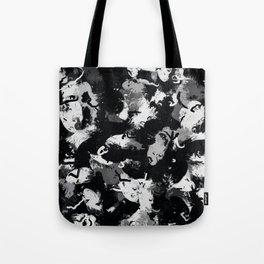 Shades of Gray and Black Oils #1979 Tote Bag