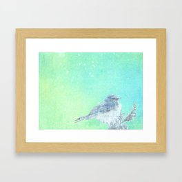 Bluebird Inked Framed Art Print
