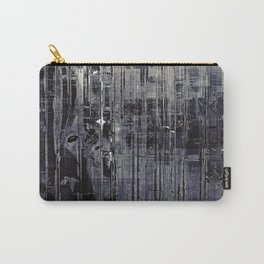 Vintage Black Carry-All Pouch