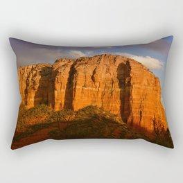 COURTHOUSE ROCK - SEDONA ARIZONA Rectangular Pillow
