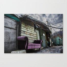 Abandonment / Guryong Village Canvas Print