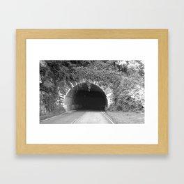 Give Way Framed Art Print