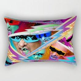 Punk For Life Rectangular Pillow