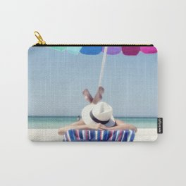 Holidays on the beach Carry-All Pouch