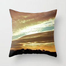 Dawn On The Side Throw Pillow