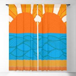 California Coast Sunrise, 1971 Blackout Curtain