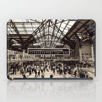liverpool iPad Cases featuring Liverpool Station by Roxana Lazăr