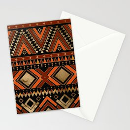 Aztec Ethnic Pattern Art N7 Stationery Cards