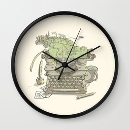 A Certain Type of City Wall Clock