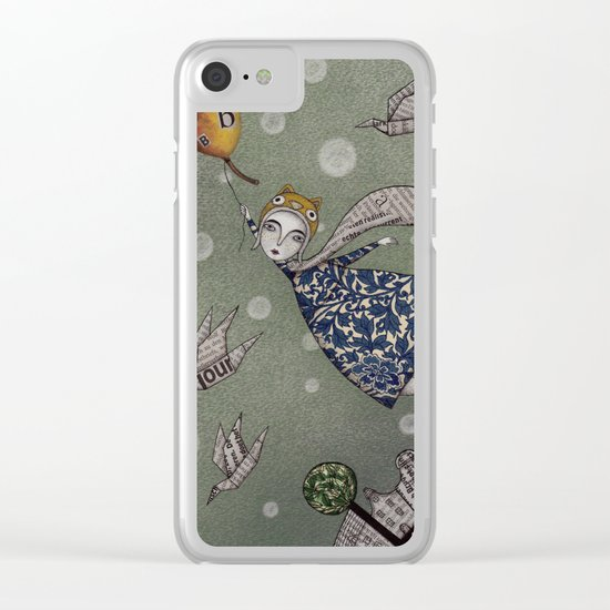 You can fly, Mary! Clear iPhone Case