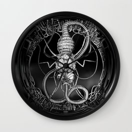 Feeding Wall Clock