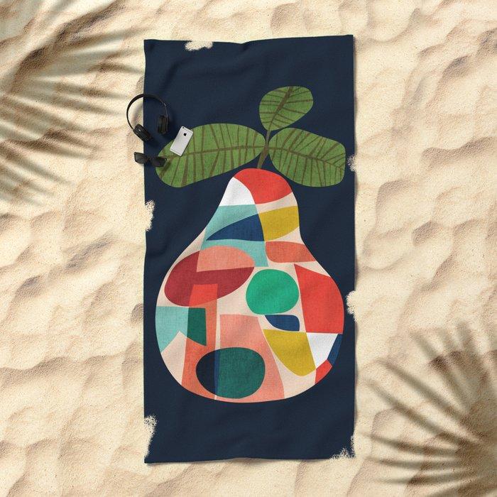 Fresh Pear Beach Towel