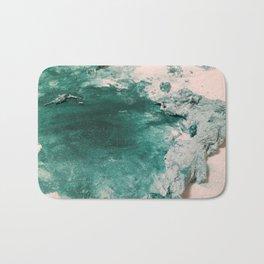 Paint Gone Bad on Canvas Bath Mat