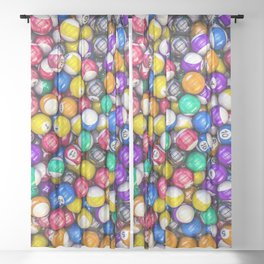 Poolhall Junkies Sheer Curtain