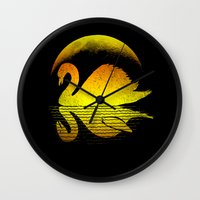 scary Wall Clocks featuring Scary shadow' by barmalisiRTB