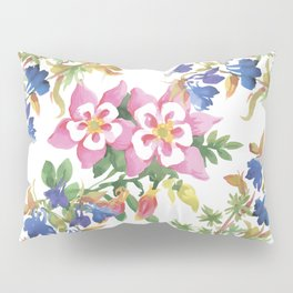 Painting lili flowers Pillow Sham