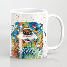 Otter Art - Ottertude - By Sharon Cummings Mug
