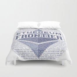 Ethereum Frontier Grunge original Duvet Cover