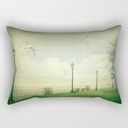 On The Boardwalk Rectangular Pillow