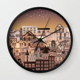 Moonlight Homes Wall Clock